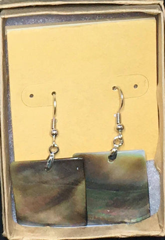MOP Rectangle Earrings