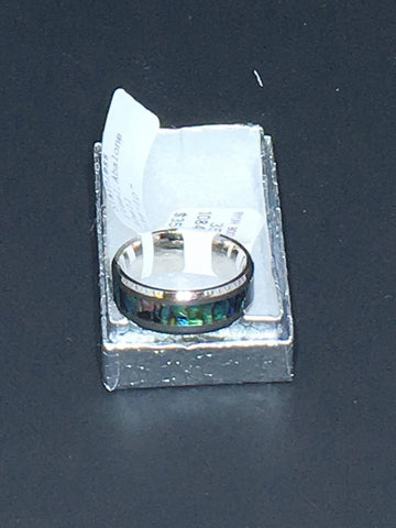 MOP STERLING RING