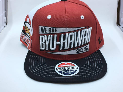 BYU Hawaii Home Stand Snapback