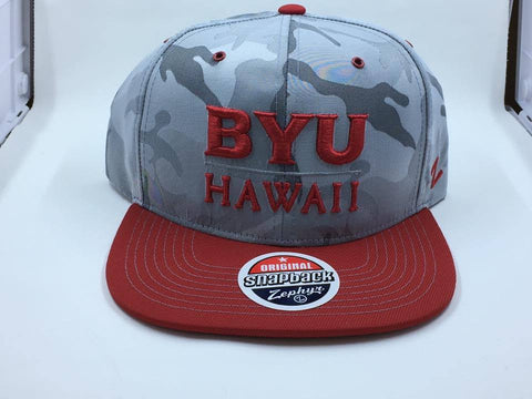 BYU Hawaii Brigade Custom Snapback