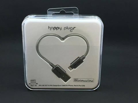 Happy Plugs Iphone lightning charge cable ON SALE