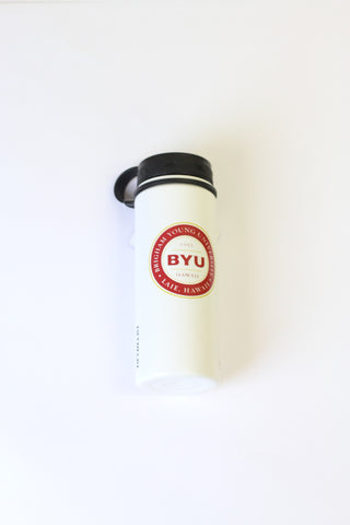 Waterbottle, Vacuum Insulated Flask White 18oz