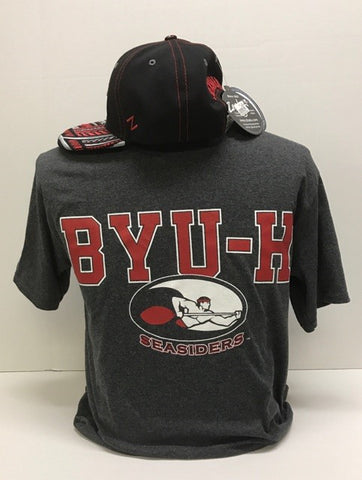 Mens BYUH Seal T-shirt