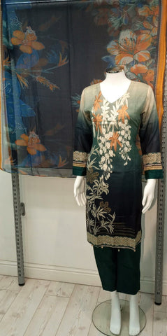 Casual Lawn Printed Ladies Suit 10421/2