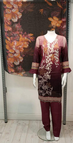 Casual Lawn Printed Ladies Suit 10421/5