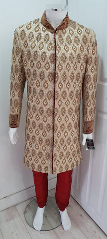 Stylish Hand Embroidered Sherwani