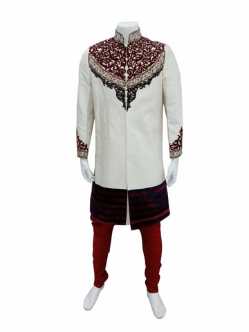 Classy Chest Embroidery Indo Western Outfit
