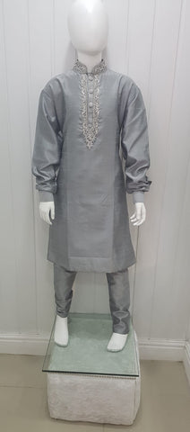Gray boys kurtha pyjama