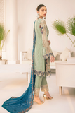 A Readymade Ramsha Collection Embroidered Chiffon Front With Sequins M-304