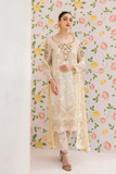Ramsha Collection Embroidered Chiffon Front With Sequins M-307