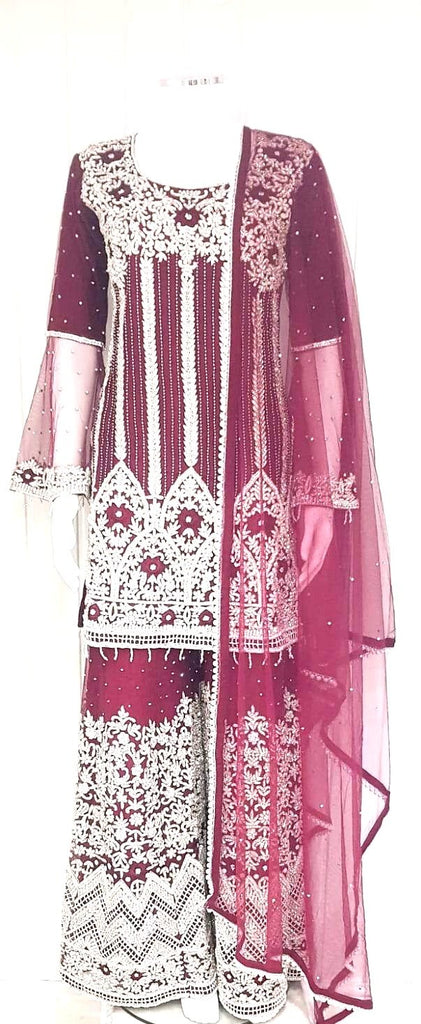 ladies party wear sharara suit  !!!!