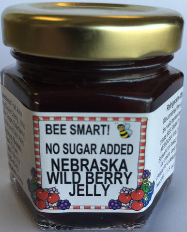 Mini No Sugar Added Nebraska Wild Berry Jelly