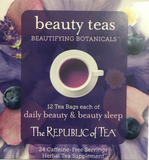 Tea Beautifying Botanicals Tea Assortment Cube