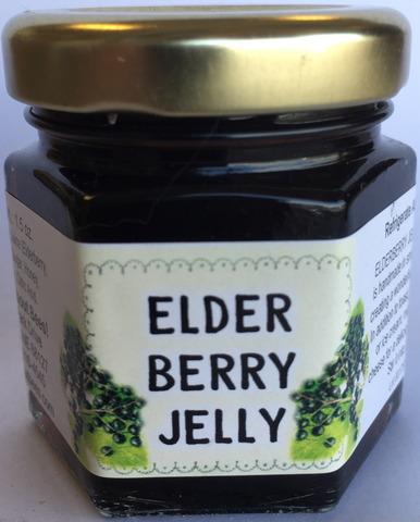 Mini Elderberry Jelly