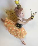 Ornaments Bee Fairy Three Different Designs