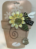 Outdoor Decor Bee Pot Sticker