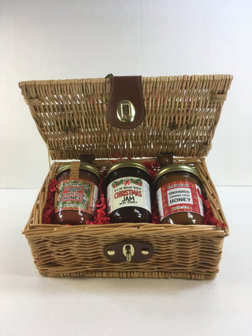 Picnic Baskets - 8oz Jam and Jelly and Fruit Butter