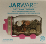 Jarware Piggy Bank Pink
