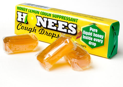 Honees Lemon Menthol Eucalyptus Drops