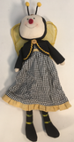 "Child Bumble Bee Girl 15"" Doll"