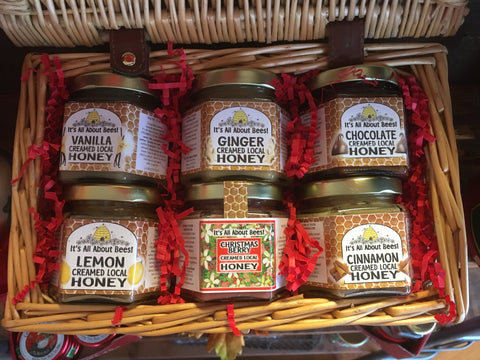Picnic Baskets - 6qty of 6oz Creamed Honey