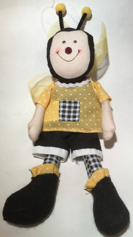 Children's Cloth Bee Doll