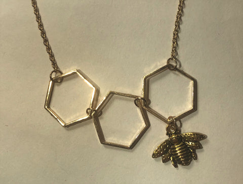 Jewelry Necklace Honeycomb