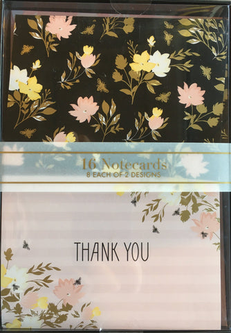 Thank You Cards Busy Bee