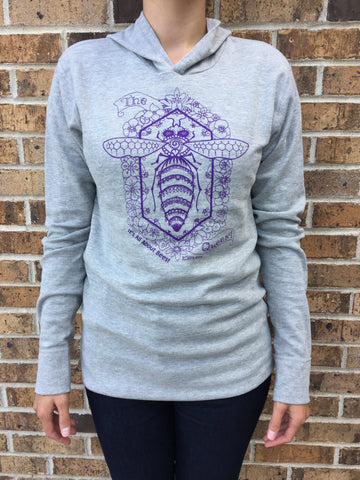 Apparel Queen Bee Thermal Hoodie