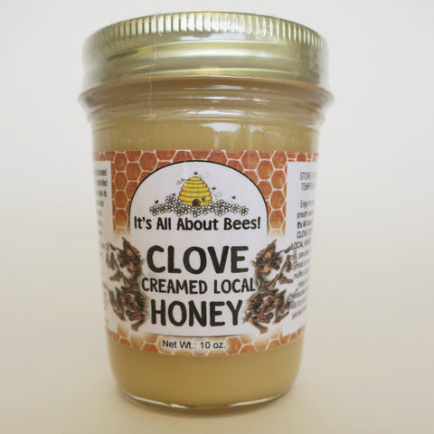 Clove Creamed Honey