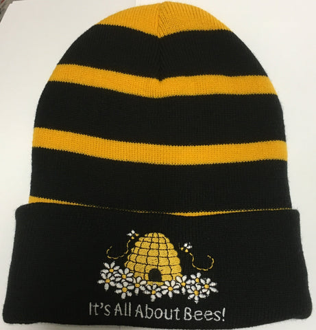 Apparel IAAB Stocking Cap, Black and Yellow Stripe