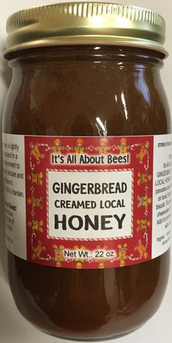 Creamed Honey Gingerbread 22 oz