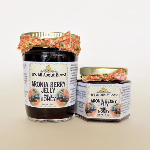 Aronia Berry Jelly with Honey