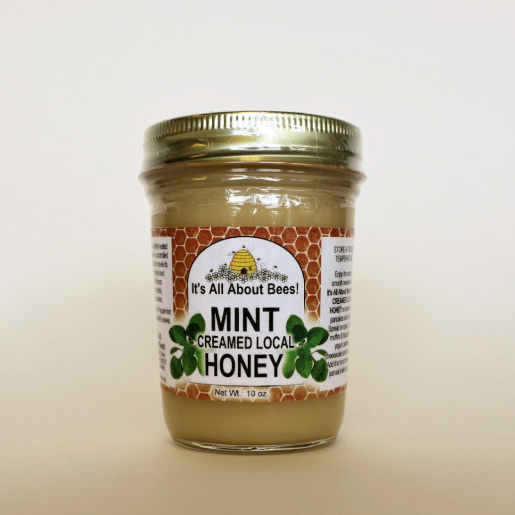 Mint Creamed Honey