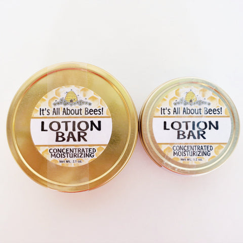 It's All About Bees! Lotion Bar