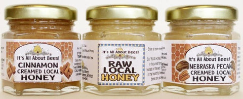 Honey Trio 3-Pack Sampler