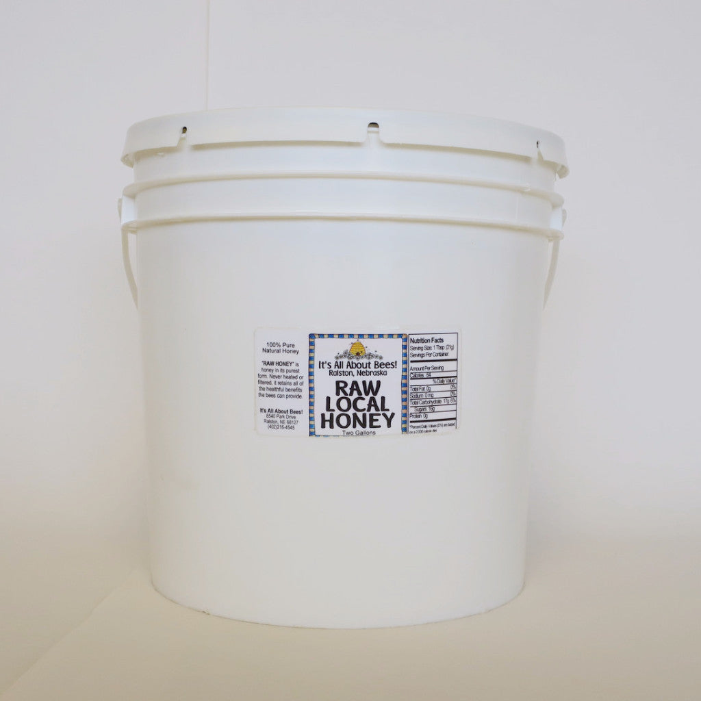 Honey Bucket - 2 Gallon (Raw or Liquid)