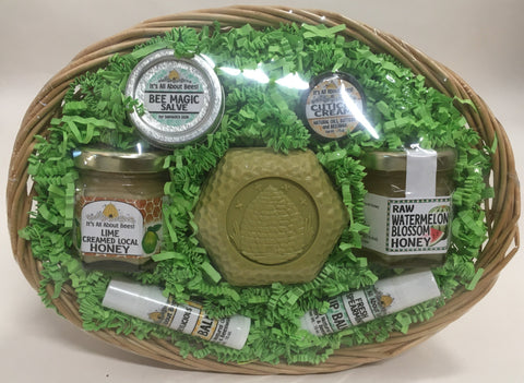 Gift Basket Honey & Body Care Products