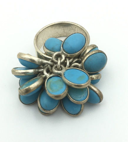 Jewelry Ring Teal