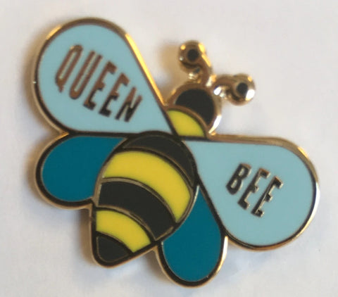 Enamel Queen Bee Pin