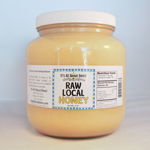Raw Local Honey 6 lb./half gallon AVAILABLE IN STORE ONLY