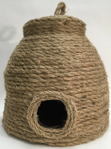 Decorative Bee Hive Skep Jute