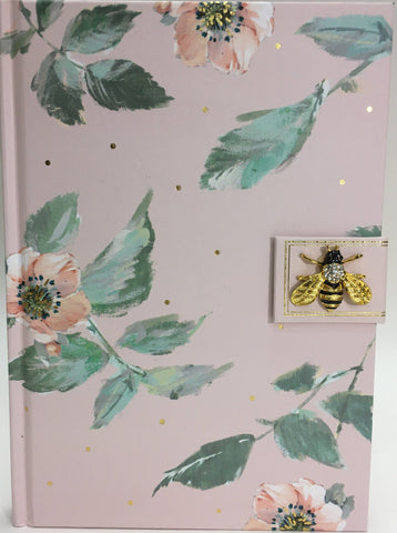 Bee Brooch Journal