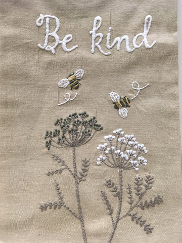 Kitchen Towel Linen/Cotton - Be Kind