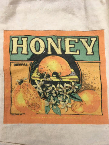 Kitchen Towel Vintage Honey Orange