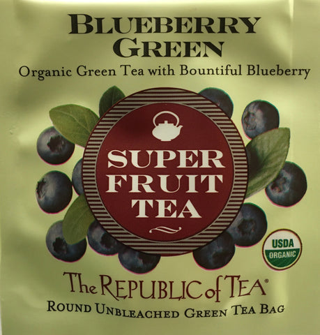 Green Super Fruit Tea Assortment (Individual)