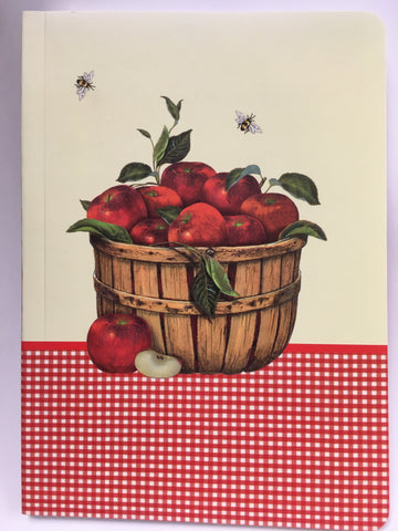 Journal Basket of Apples and Bees