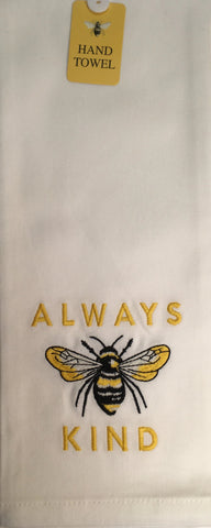 Hand Towel  Always Bee Kind