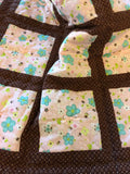 Brown Baby Quilt