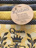 Kitchen Queen Bee 3pc Gift Set